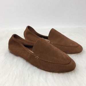A New Day Brown loafers flat shneaker size -9